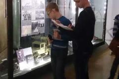 В музее вооруженных сил