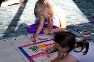 Городской лагерь для детей