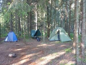 Лагерь Лидер - палаточный городок