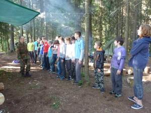 Лагерь Лидер - зарядка от Ярослава