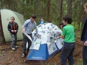 Лагерь Лидер - тренинг командообразования