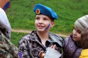 Юный десантник