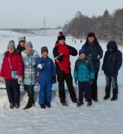 Вот и завершился Зимний лагерь РОСТа в Подмосковье!