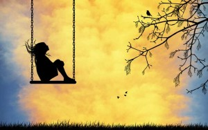 сказка про одинокую девочку