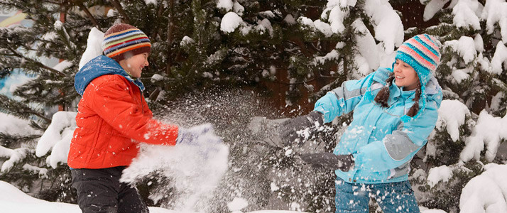 Игры в зимнем лагере