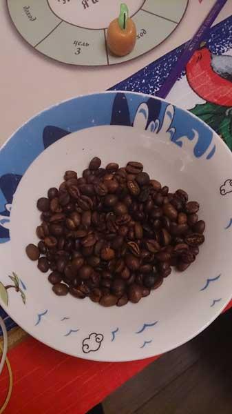 Ресурсы: кофейные зерна