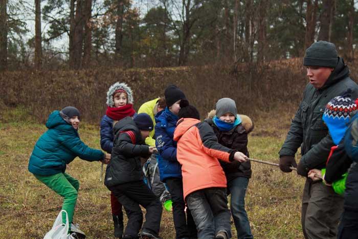 Квест для детей на природе